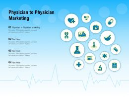 Physician To Physician Marketing Ppt Powerpoint Presentation Ideas Portfolio
