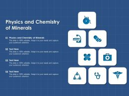 Physics And Chemistry Of Minerals Ppt Powerpoint Presentation Gallery Professional