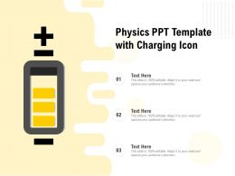 Physics Ppt Template With Charging Icon
