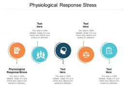 Physiological Response Stress Ppt Powerpoint Presentation Show Background Designs Cpb