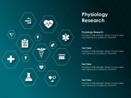Physiology Research Ppt Powerpoint Presentation File Template