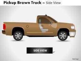 pickup_brown_truck_side_view_powerpoint_presentation_slides_Slide02
