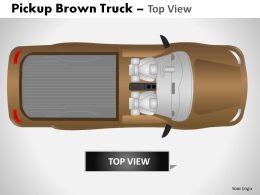 pickup_brown_truck_top_view_powerpoint_presentation_slides_Slide02