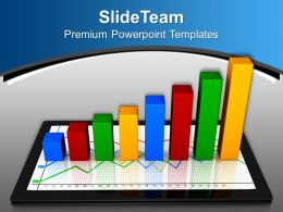 Pics Of Bar Graphs Growth Business Powerpoint Templates And Themes