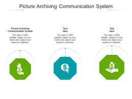 Picture Archiving Communication System Ppt Powerpoint Presentation Layouts Professional Cpb
