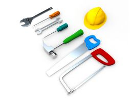 Picture Of Mechanical Tools Stock Photo