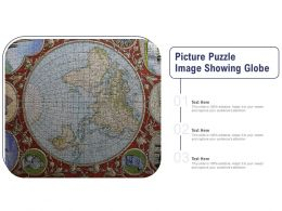 Picture Puzzle Image Showing Globe