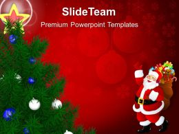 pictures_of_christmas_trees_decorative_holidays_powerpoint_templates_ppt_backgrounds_for_slides_Slide01