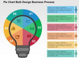 pie_chart_bulb_design_business_process_flat_powerpoint_design_Slide01