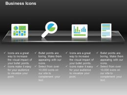 Pie Chart Growth Bar Graph Record Ppt Icons Graphics