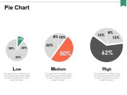 Pie Chart Medium Ppt Powerpoint Presentation Professional Infographics