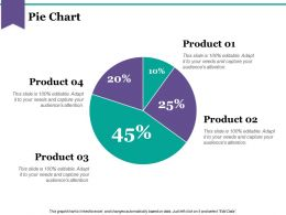 Pie Chart Powerpoint Slide Design Ideas