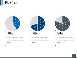 Pie Chart Powerpoint Slide Inspiration Template 2