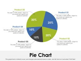 Pie Chart Ppt Inspiration Slide Portrait