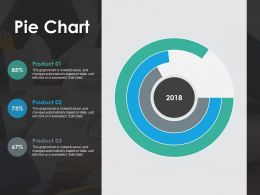 Pie Chart Ppt Show Infographic Template