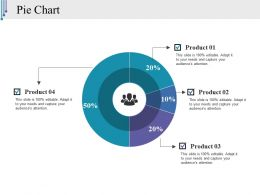Pie Chart Ppt Styles Graphics Template