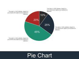 Pie Chart Presentation Layouts Template 2