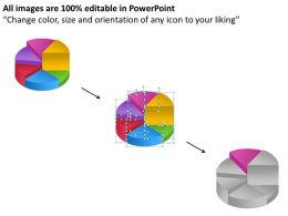 pie_chart_process_6_stages_Slide08