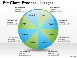 Pie Chart Process 8 Stages 7