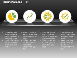 Pie Chart Strategy Global Process Control Beneficiary Ppt Icons Graphics