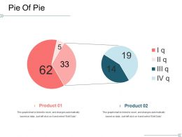 Pie Of Pie Powerpoint Slide Design Templates 1