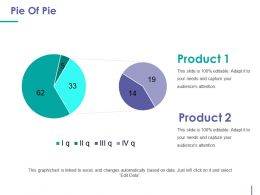Pie Of Pie Powerpoint Templates Microsoft