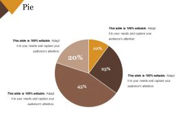Pie Powerpoint Slide Presentation Guidelines Template 1