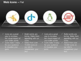 Pied Piper Openid Linux Ioxhost Ppt Icons Graphics
