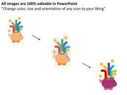 piggy_bank_dollar_arrow_growth_identification_flat_powerpoint_design_Slide02