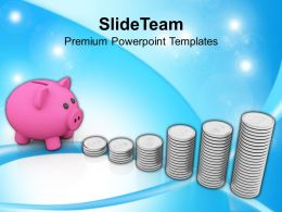 Piggy Bank Money Growth Investment Powerpoint Templates PPT Themes And Graphics 0113