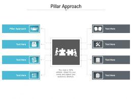 Pillar Approach Ppt Powerpoint Presentation Inspiration Graphics Design Cpb