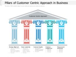 Pillars Of Customer Centric Approach In Business