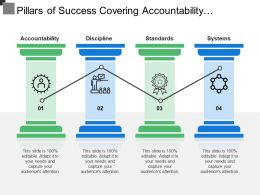 Pillars Of Success Covering Accountability Discipline Standards And Systems