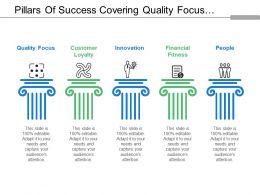 55817424 Style Essentials 1 Our Vision 5 Piece Powerpoint Presentation Diagram Infographic Slide