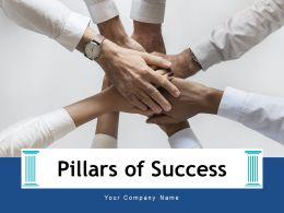 Pillars Of Success Process Accountability Creativity Motivation Portfolio