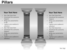 Pillars Powerpoint Presentation Slides DB