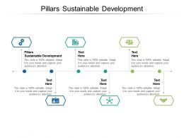Pillars Sustainable Development Ppt Powerpoint Presentation Infographic Template Introduction Cpb
