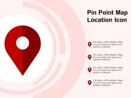 Pin Point Map Location Icon