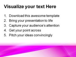 Pink Abstract PowerPoint Template 0910  Presentation Themes and Graphics Slide03