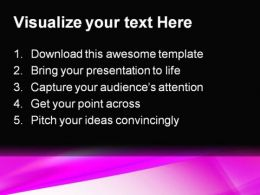 Pink Abstract PowerPoint Template 0910  Presentation Themes and Graphics Slide02
