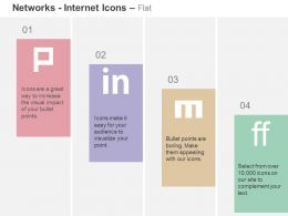 Pinterest Linkedin Friendfeed Mixx Ppt Icons Graphics