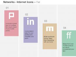 Pinterest Linkedin Friendfeed Mixx Ppt Icons Graphics