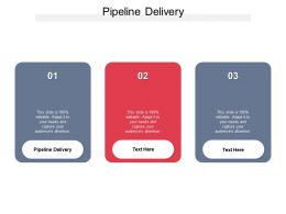 Pipeline Delivery Ppt Powerpoint Presentation Infographics File Formats Cpb