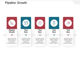 Pipeline Growth Ppt Powerpoint Presentation Model Backgrounds Cpb