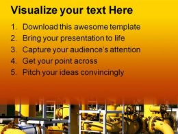Pipeline Industrial PowerPoint Templates And PowerPoint Backgrounds 0211