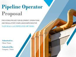 Pipeline Operator Proposal Powerpoint Presentation Slides
