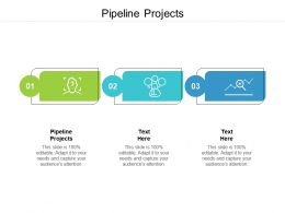 Pipeline Projects Ppt Powerpoint Presentation Summary Background Images Cpb