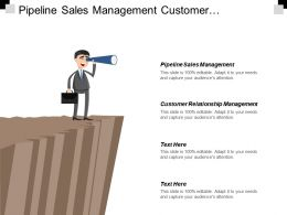 Pipeline Sales Management Customer Relationship Management Comparison Chatbot Marketing Cpb