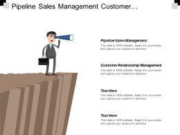 Pipeline Sales Management Customer Relationship Management Comparison Chatbot Marketing Cpb