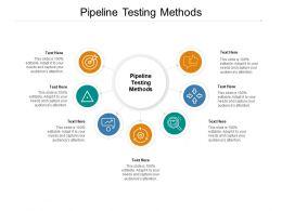 Pipeline Testing Methods Ppt Powerpoint Presentation Slides Samples Cpb
